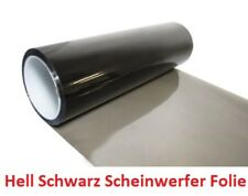 Hell Schwarz Scheinwerfer Folie Tönungsfolie 200 x 30 cm Rückleuchten (14EUR/m²)