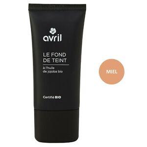 Fond-de-teint-Miel-30ml-Certifie-Bio-Vegan-100-Naturel-Cosmetique-AVRIL