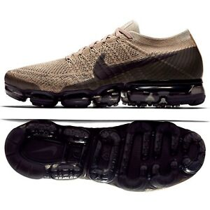 52bf9f131a7b Nike Air VaporMax Flyknit Pudding 849558-201 Khaki Anthracite Men ...