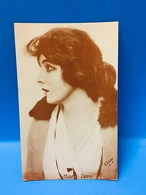 Unused Good Condition 100% Original 1920's Penny Arcade Selfless Marie Doro Card Postcard