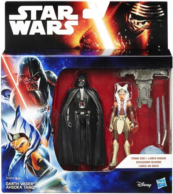 "Star Wars Force Awaken Darth Vader & Ahsoka Tano 3.75"" Action Figure"