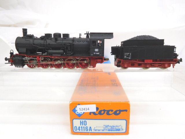 estar en gran demanda Mes-52414 Mes-52414 Mes-52414 04116 roco a h0 máquina de vapor DB 57 3468 con deficiencias, función examinado  Nuevos productos de artículos novedosos.