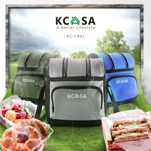 KCASA Insulated Thermal Travel Picnic Camping Lunch Food Storage Hot Cooler Bag