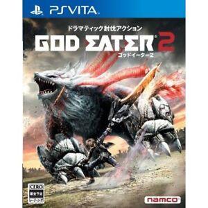 Used-PS-Vita-GOD-EATER-2-Japan-Import