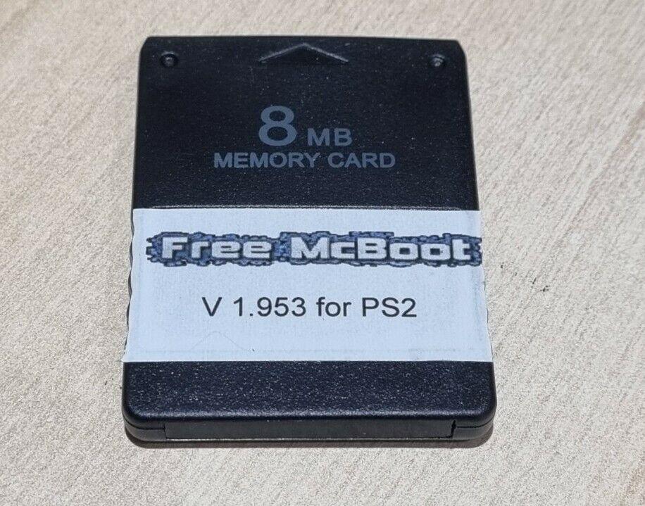 Free McBoot FMCB 1.953 Sony 8mb Memory Card PlayStation 2 PS2 OPL ESR