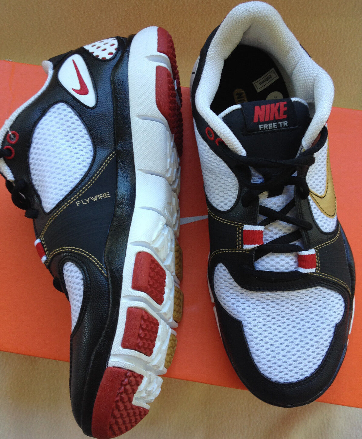 Nike Free TR Flywire 395928-176 Marathon Running Fit Training Shoes Men's 8 new