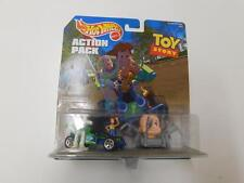 Hot Wheels 1998 Toy Story Action Pack W/Buzz,Woody, Baby Face And RC Car 24161