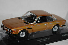 BMW 3,0 CSL (e9) Coupe 1972 GOLD METALLIC 1:18 Minichamps Nuovo & Ovp 180029027