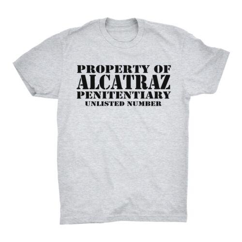 Property Of Alcatraz T Shirt Penitentiary Unlisted Numer Deborah Debbie