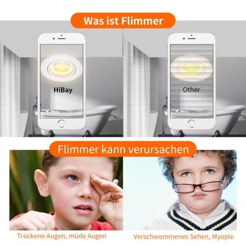 Ultra Flach Smart Dimmbar Led Einbaustrahler 6W 230V Einbauspots Licht tauschbar