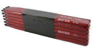 12-pr Brique Vic Firth ® Nova 5 A Nylon Tip Drum Sticks N5anr Hickory Vrac Neuf-afficher Le Titre D'origine
