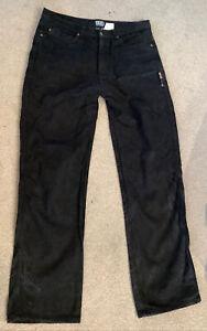 JTS-Black-Made-With-Kevlar-Jeans-36-Waist-Inside-Leg-34-Long