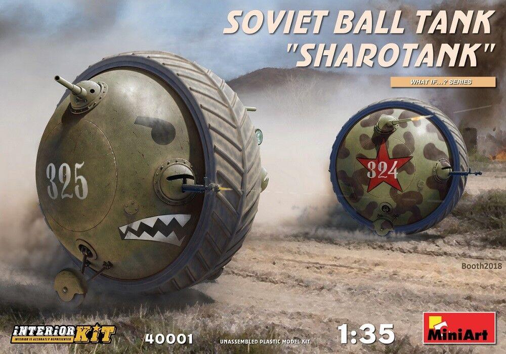 MIN40001 - Miniart 1 35 - Soviet Ball Tank Sharedank Interior Kit