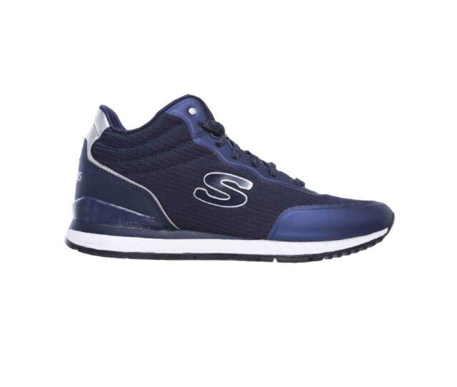 Skechers SUNLITE VEGA HIGH nero sneakers scarpe donna memory
