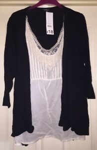 BNWT-George-Double-Look-Top-Size-14-Gorgeous