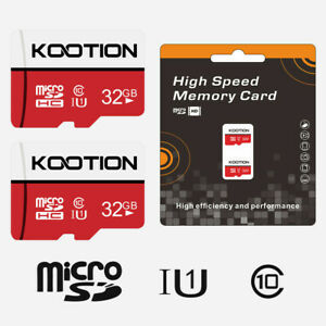 2-Pack-32GB-Micro-SD-TF-Card-SDHC-UHS-I-C10-Flash-Storage-Memory-Card-70MB-s