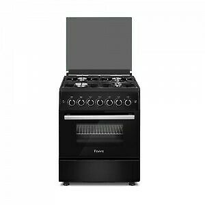 Brand New Ferre 60 X 60 4 Plate Free Standing Gas Stove with Gas Oven
