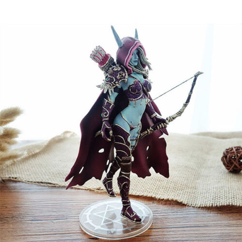 2018 Wow World Of Warcraft Lady Sylvanas Action Figure Windrunner Toy Doll Gift