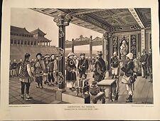 """EXPOSITION DU TONKIN  """"SOUMISSION DE PAVILLONS-NOIRS"""" 1895"""