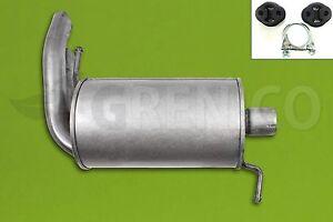 Endschalldaempfer-Montagesatz-VW-SHARAN-7M8-1-9TDI-95-00-Endtopf-Auspuff