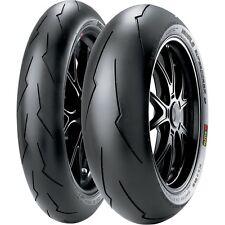 Pneumatici Moto Pirelli Diablo Supercorsa Sp V2 Nuovi Coppia Gomme 120 + 180