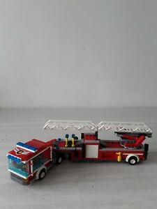 LEGO-CITY-CAMION-DE-POMPIER-N-60112-PERSONNAGES-ACCESSOIRES