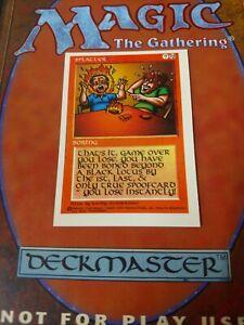 MAGYC-SPLATTER-MAGIC-RARE-PROMO-CARD-Oddity-Misprint-Spoof