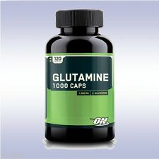 OPTIMUM NUTRITION GLUTAMINE 1000 MG CAPS (120 CAPSULES) amino acid bcaa on