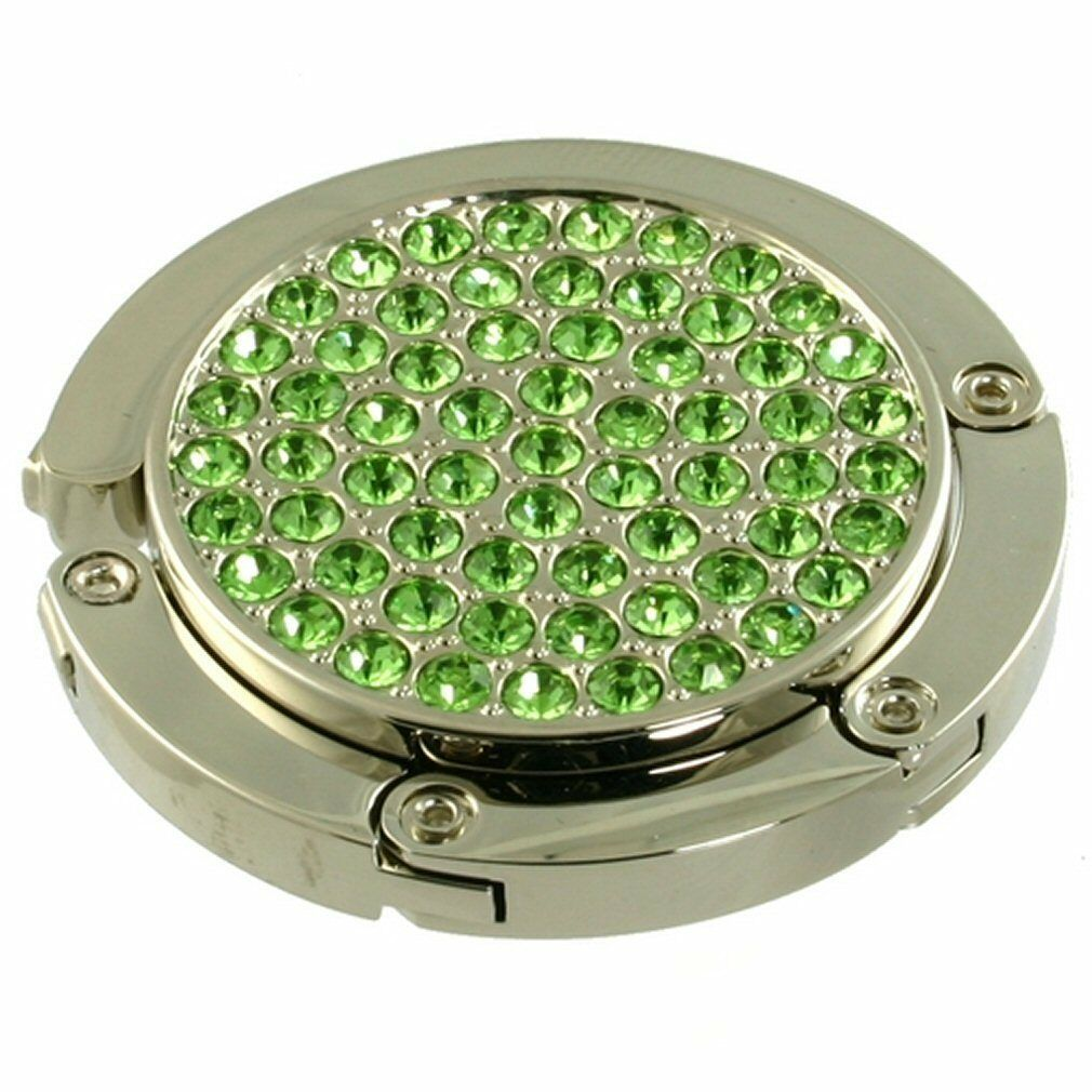 Donna Borsa Gancio per Appendere Peridoto verde Cristalli