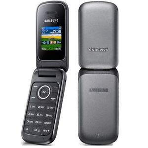 Phone Mobile Brand Flip Samsung Unlocked About Cheap Details New - E1190 Condition Black