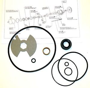 MOPAR-Power-Steering-Pump-Kit-Federal-Plymouth-Dodge-Chrys-039-67-74-340-440-Hemi