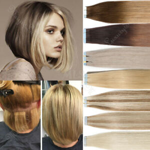 Shop Tape In Hair Extensions In Short Hair 64 Off Online