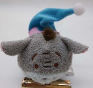 Authentic-2017-New-Disney-Christmas-Eeyore-Tsum-Tsum-Mini-3-5-034-Plush-Doll-Toy