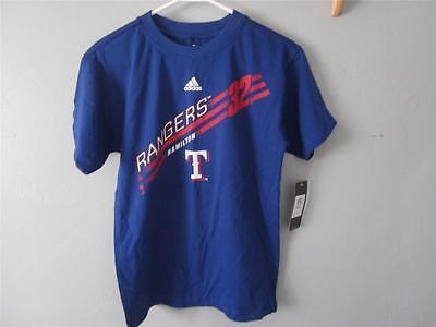 Texas Rangers Josh Hamilton #32 Jugend Medium New-mended m 10/12 Adidas Hemd