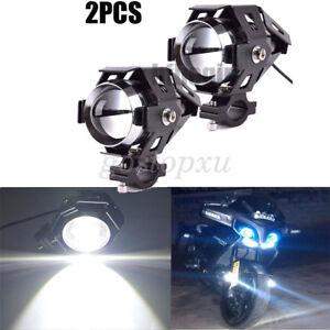 2X-Motorcycle-U5-LED-Driving-Headlight-Fog-Lamp-Spot-Light-For-BMW