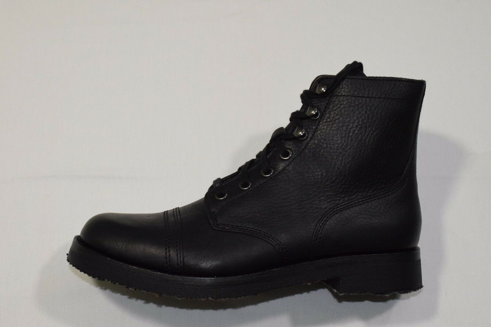 Polo Country Ralph Lauren Enville Cap Toe Leather Boots Mens 9.5D