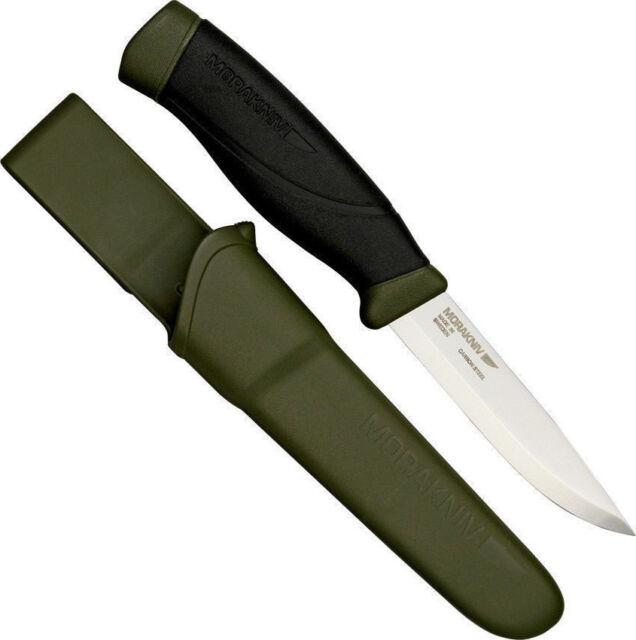ONE LOT OF 10 MORAKNIV 11746 HEAVY DUTY COMPANION MG C100 CARBON STEEL KNIFE