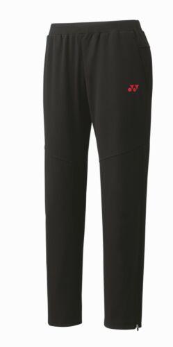 YONEX Men/'s Warm-up Pantalon-Noir 60075