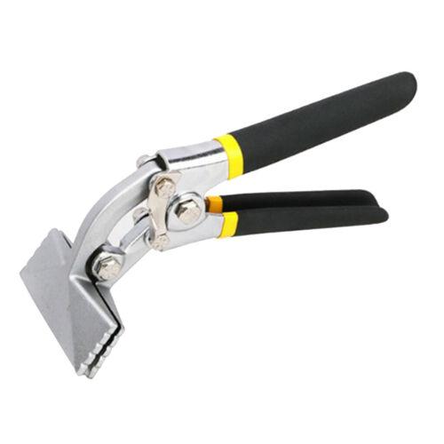 2 STÜCKE Blechbiegezange Schweißwerkzeug Hand Seamer Flache Backe Neu