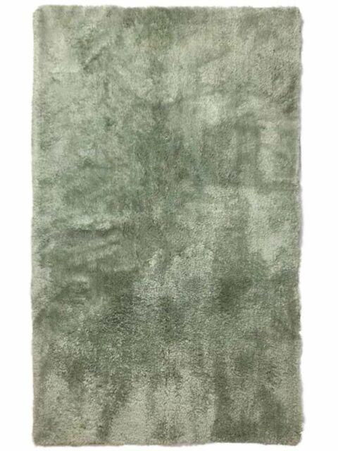 Sage Green Plush Skid Resistant 21x34