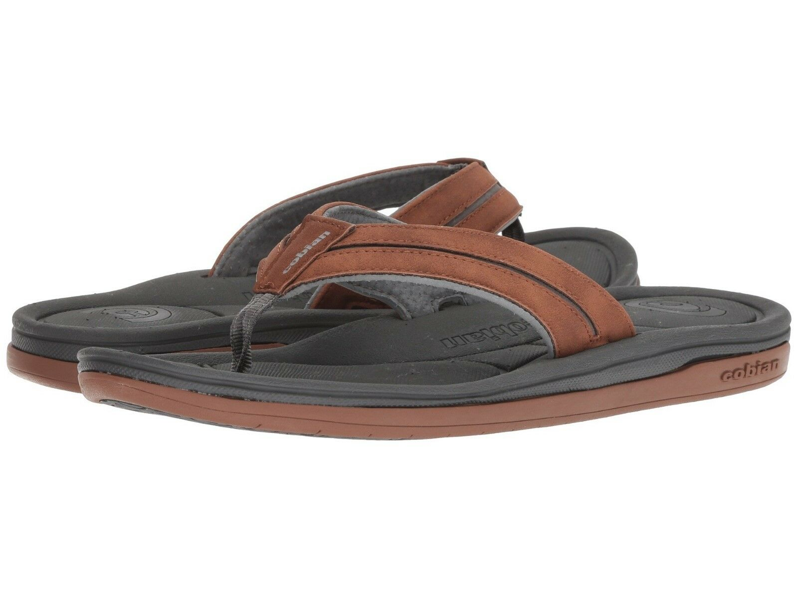NEW MEN COBIAN SANDALS TOFINO BOLSTER CHESTNUT LASTING COMFORT ORIGINAL 18-210