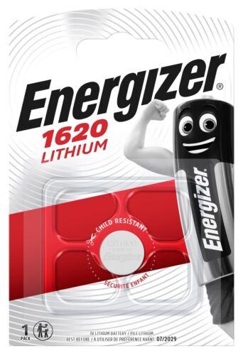 15 x Energizer CR 1620 3V Lithium Batterie Knopfzelle 81mAh im Blister