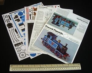 "1972 Vintage Peacock Paperkits ""Bluebell"" Loco. South East & Chatham Railway"