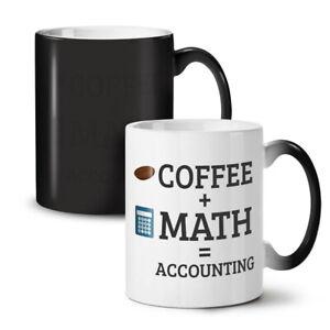 Coffee and Math NEW Colour Changing Tea Coffee Mug 11 oz   Wellcoda