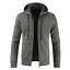 Mens-Winter-Warm-Slim-Sweater-Knitted-Cardigan-Jumper-Zip-Fleece-Lined-Coat-Top thumbnail 17