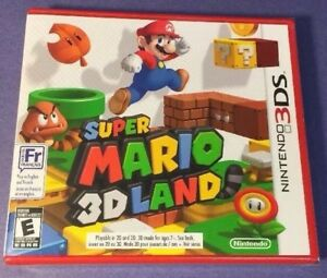 Details about Super Mario 3D Land [ First Print / RED Case ] (3DS) NEW