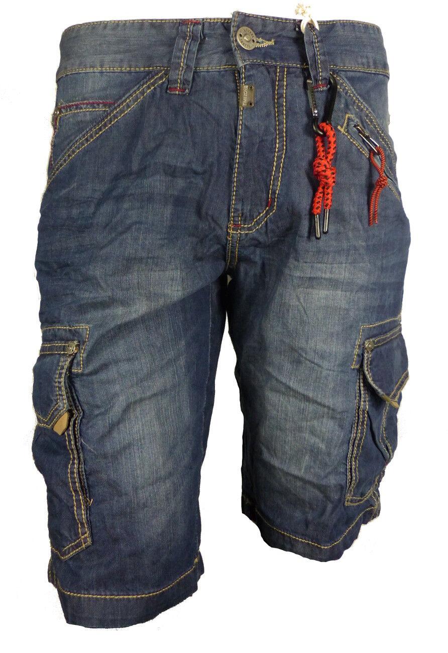 TIMEZONE Jeans voiturego courtes Ryker ce soir Pantalon court bleu nouveau w32-40 courte