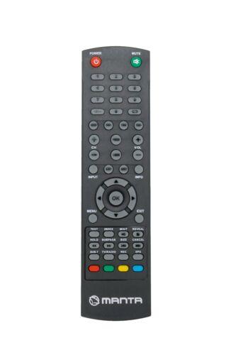 Nue Ersatz Fernbedienung für MANTA TV LED220Q7 LED240Q4 LED3204 ver.2