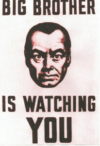 1984-POSTER-George-Orwell-Big-Brother