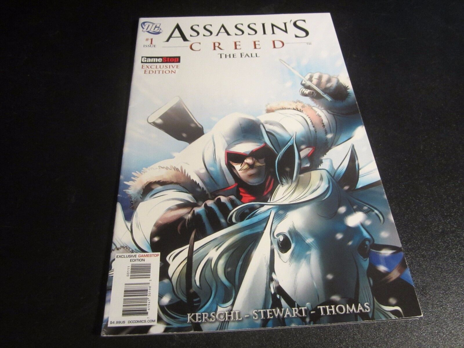 Assassins Creed The Fall Comic Book